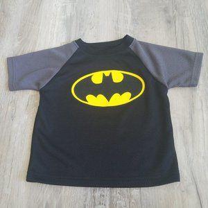 Boys Batman Logo Mesh T-Shirt 18 Months